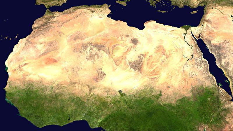 ทะเลทรายที่ใหญ่ที่สุด
