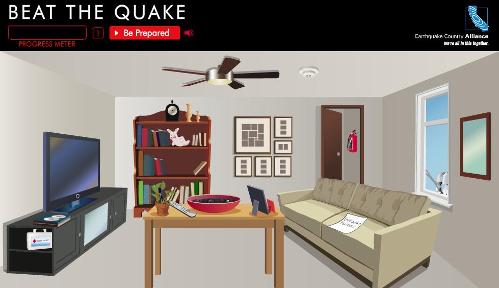 [เกม] ทดสอบความพร้อมก่อนแผ่นดินไหว